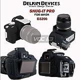 Delkin Snug It Protective Skin for Nikon D3200