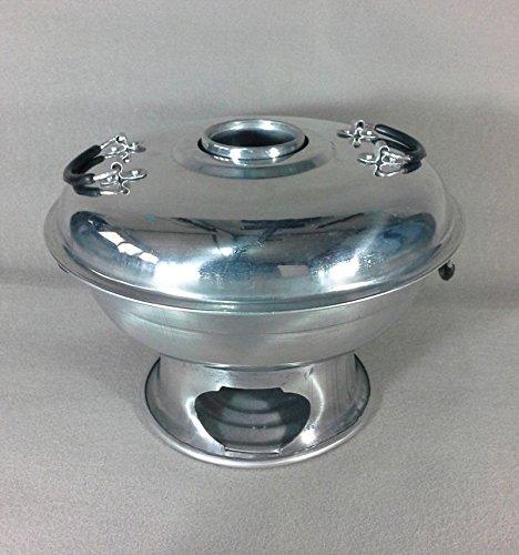 22 cm Hot Pot Aluminium Tom Yum Bowl Fire Serving Utensil Soup Kitchen Food (Regal Griddle compare prices)