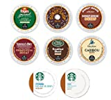 24 Count - Variety Decaf Coffee K-Cup For Keurig Brewer - Starbucks, Green Mountain, Donut Shop, Newmans, Donut House, Folgers, Caribou