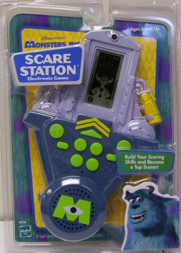 Monsters Inc. Scare Station Electronic Game