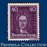 echange, troc FR.Prophila - timbres pour les collectionneurs: Allemand Empire 395 neuf avec gomme originale 1926 têtes célèbre Allemand