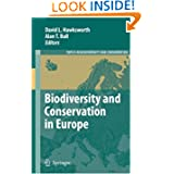 Biodiversity and Conservation in Europe (Topics in Biodiversity and Conservation)