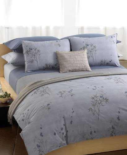 Calvin Klein ''Bamboo Flower'' King Fitted Sheet