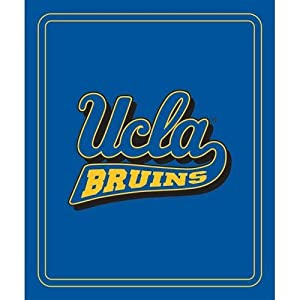 Ucla Bruins Ncaa Classic Fleece Blanket by Logo Chair