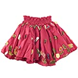 Child's Fuchsia Applique Skirt