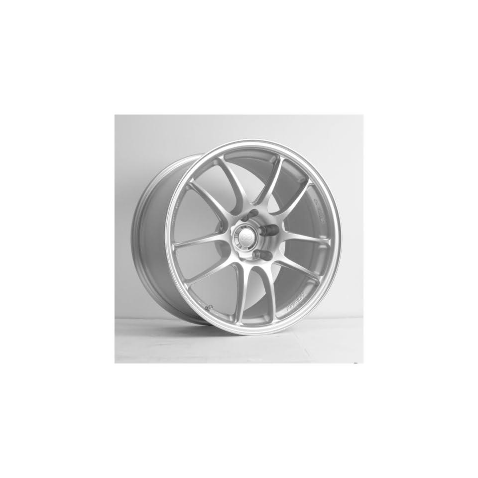 18x8 Enkei PF01 (Silver) Wheels/Rims 5x110 (460 880 5140SP)