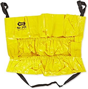 "Impact 7705 Vinyl Gator Caddy, 20"" Diameter x 20-1/2"" Height, Yellow (Case of 6)"