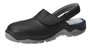 ABEBA 2125 Sicherheitsclog Berufsclog mit Stahlkappe S2, hygienisch und antistatisch  Schuhe & HandtaschenBewertungen und Beschreibung