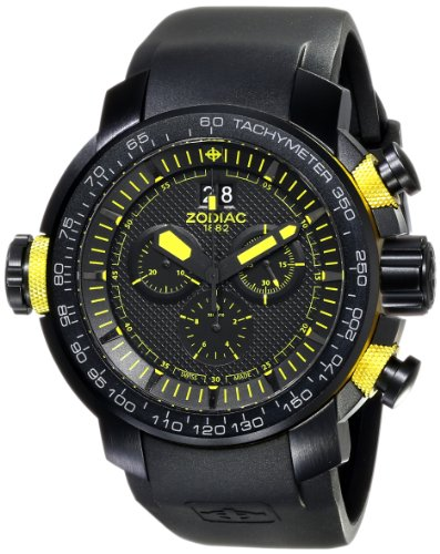 "Zodiac ZMX Men's ZO8559 ""Special Ops"" Analog Display Swiss Quartz Black Watch"