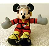 """Disney Thrill Seeker Mountain Adventure Expedition Everest Mickey Mouse 9"""" Plush Bean Bag Doll"""