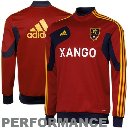 adidas Real Salt Lake Training Performance Jacket - Red