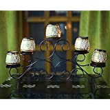 Crafts N Fusion Handicrafted Five Metal Tea Lights Holder