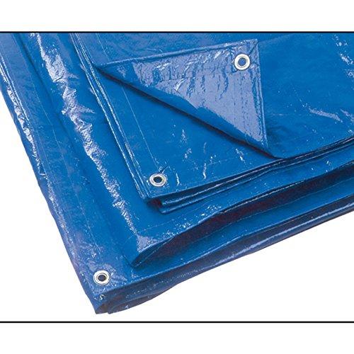 Telo occhiellato in polietilene mt. 4x6 blu 'UTILIA'