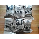 Half Case (total of 6 Individual Meals) of MRE Star Ready to Eat Complete Meals w/ Flameless Heaters - Variety of Meals - Great for Bugout Bug Out Survival Emergency Bags Kits for Disasters 2012 Zombie Apocalypse