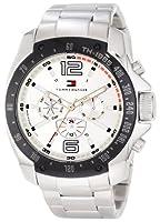 Buy Tommy Hilfiger Mens 1790872 Sport Stainless Steel Bracelet Black Bezel Watch by Tommy Hilfiger
