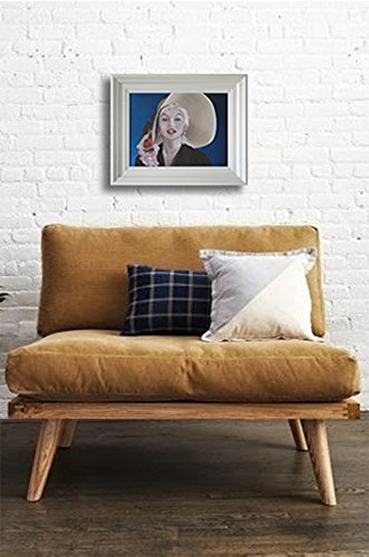 portrait-of-marilyn-monroe-framed-oil-painting-art-from-ireland-free-worldwide-shipping