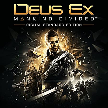 Deus Ex: Mankind Divided - Pre-Load - PS4 [Digital Code]