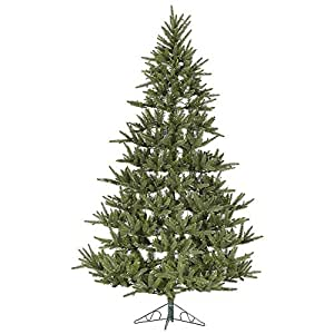 Com 7 5 berkshire fir artificial half wall christmas tree unlit