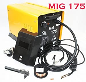 Details about MIG 175 160AMP 110V Mag Flux Core Welding Machine Gas Welder Fabrication Auto by I_S IMPORT