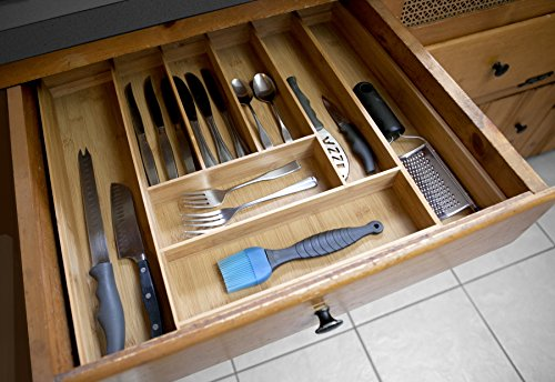 Home Basics Expandable Cutlery Tray [Misc.]