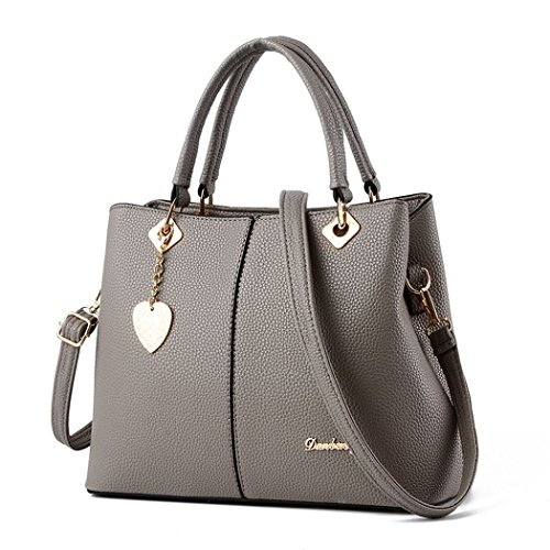 andee-womens-fashionable-new-style-pure-color-metal-leather-shoulder-bags-handbaggrey