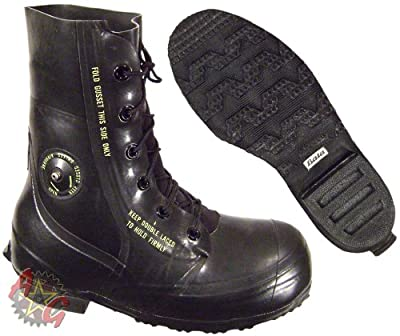 "Combat Boot, ""Mickey Mouse"" Extreme Cold Weather Boots, Waterproof Rubber, Genuine U.S. Military Issue"