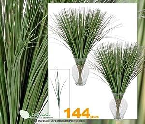 "Amazon.com - 144 Pieces of Artificial 21.5 "" Onion Grass"