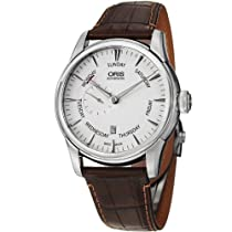 Oris Artelier Automatic Small Second Pointer Day Stainless Steel Mens Watch 745-7666-4051LS