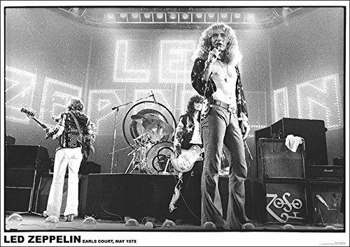 Led Zeppelin Earls Court Poster Standard