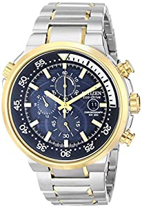 Citizen Men's CA0444-50L Endeavor Analog Display Japanese Quartz Two Tone Watch