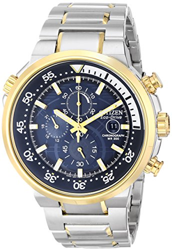 Citizen Eco-Drive Endeavor Blue Dial Men's Watch #CA0444-50L