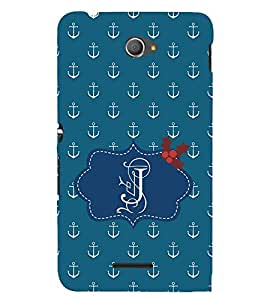 EPICCASE anchor of J Mobile Back Case Cover For Sony Xperia E4 (Designer Case)