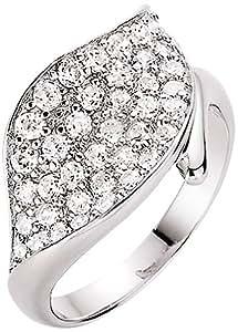 Spirit - New York Damen-Ring Silber rhodiniert Zirkonia weiß Gr. 56 93003293560