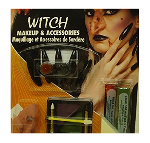 Witch Makeup and Accessories