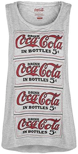 Coca Cola Logo - Repeat Top donna grigio sport L