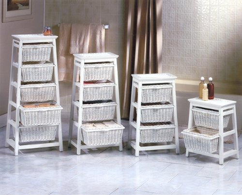 Cheap Discount Wicker Bedroom Furniture Online White Wicker 2 Basket C