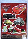 Disney Pixar Cars 2: Wheelie Bin/ Wall Sticker Kit (World Grand Prix)