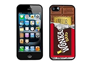 Willy Wonka Golden Ticket Chocolate Bar iPhone 5 Case By Case Envy (Hard Silicone Rubber Case)