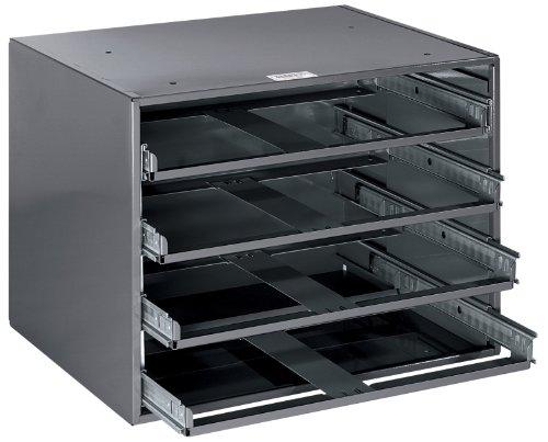 Klein Tools 54477 4-Box Slide Rack