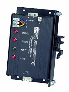 Leviton 51020-DIN 120 Volt, 20 Amp, 2 Pole, 3 Wire, In-Line Protector Surge Protective Device, Wired-In Module, Din-Rail Mounted