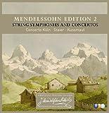 Mendelssohn Edition Volume 2 - String Symphonies And Concertos