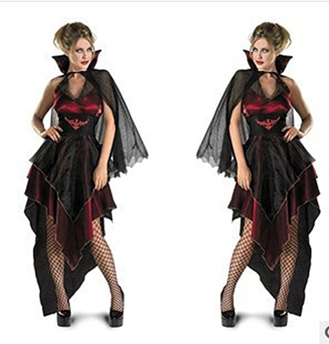 Rose Candy Woman Vampire Role-Playing Halloween Cosplay Show Dance Party Clothes