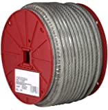 Galvanized Steel Wire Rope, Vinyl Coated, 7x7 Strand Core