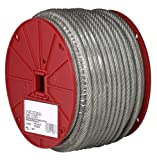 Campbell 7000697 Vinyl Coated Cable on Reel, 3/16