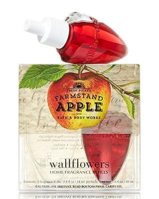 Bath & Body Works Wallflowers Home Fragrance Refill Bulbs Farmstand Apple