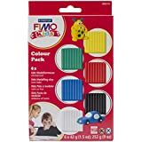 FIMO® kids Materialpackung Modelliermasse, 6er-Set