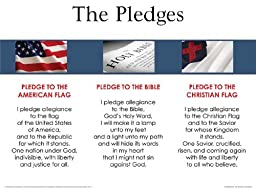 Chart-Pledges Wall (Laminated)