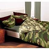 Militar reversible edredón/almohada