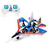 F22 Raptor Styled 2.4g 4ch 6 Axis Rc Quadcopter With Led Light - B0150VFHM4