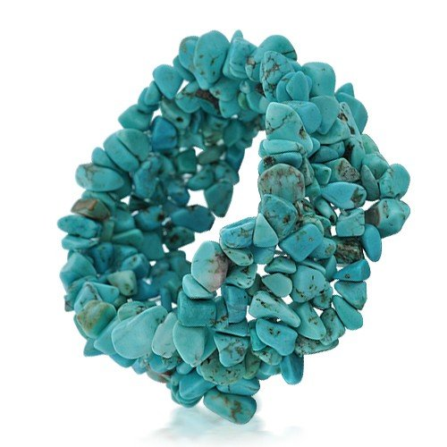 Bling Jewelry Genuine Turquoise Gemstone Chips